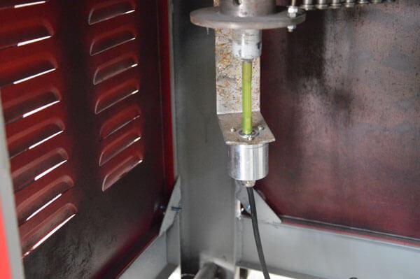 GF25 CNC rebar stirrup bender angle degree controler of