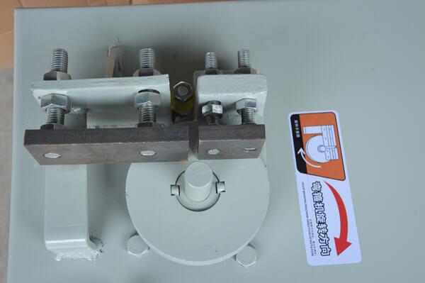 stirrup bending machine workbench operation