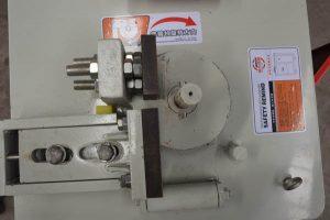 workbench of GF25 CNC rebar stirrup bender
