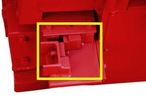 cutting facility of MY5-12 rebar straightening machine