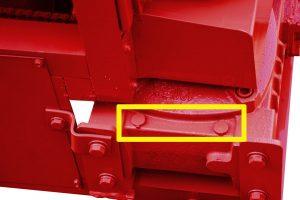 gear box oil hole of MY5-12 rebar straightening machine