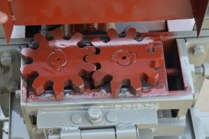 input traction wheel gear of MY5-12 rebar straightening machine
