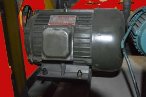 motor for straightening facility