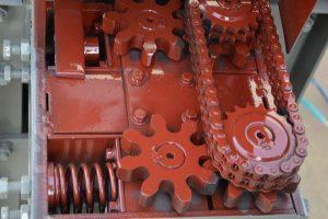 output traction wheel gear of MY5-12 rebar straightening machine