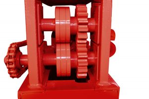 export hole of MY2-5 wire straightener machine