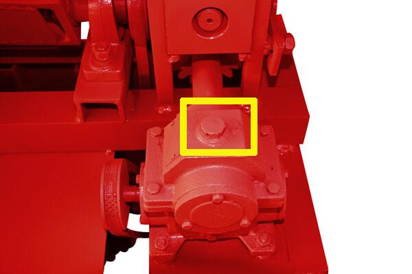 reduction gears of MY2-5 wire straightener machine