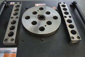 workbench of rebar bender