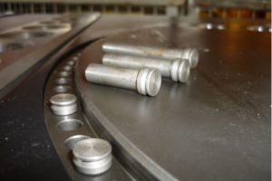 Indexing pins of GW50D