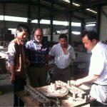 customers visit Shuanglong Machinery 1