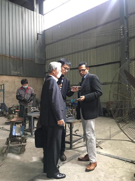 customers visit Shuanglong Machinery 10