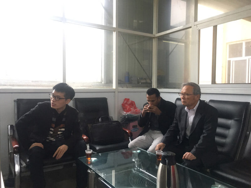 customers visit Shuanglong Machinery 6