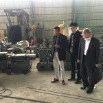 customers visit Shuanglong Machinery 8