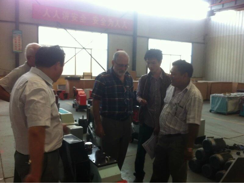 customers vist Shuanglong Machinery 5