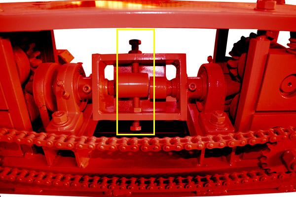 straightener rollers