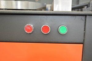 work bench of GW40B bar bender