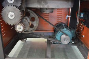 Dynamical system of GW50B manual bar bender