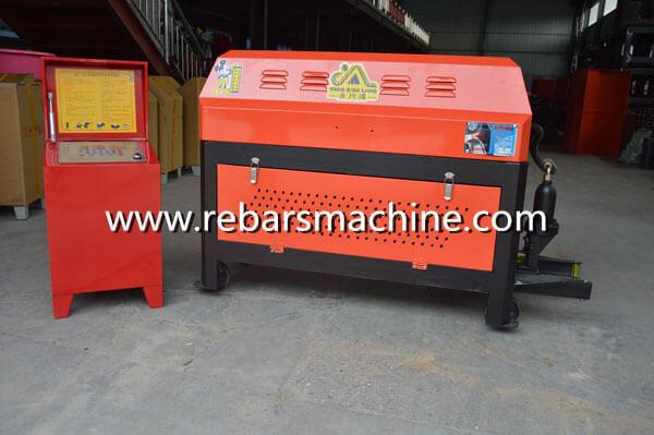 GT4-12 rebar straightening cutting machine Costa Rica 1