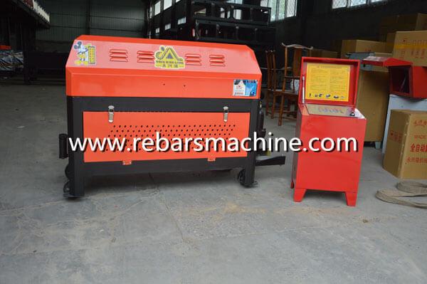 GT4-12 rebar straightening cutting machine Costa Rica 2