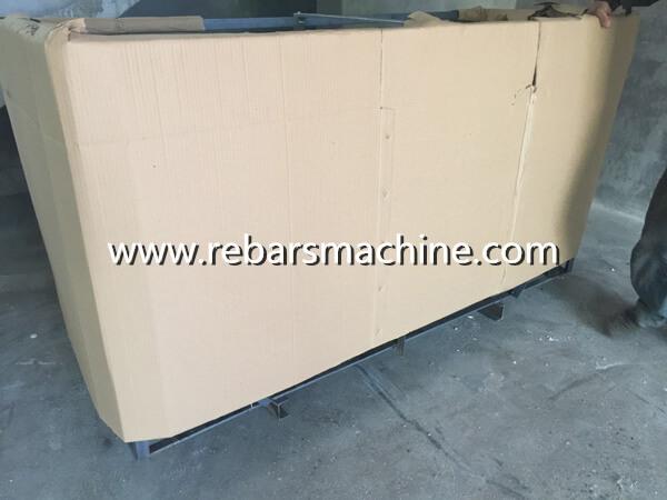 GT4-12 rebar straightening cutting machine Costa Rica 6
