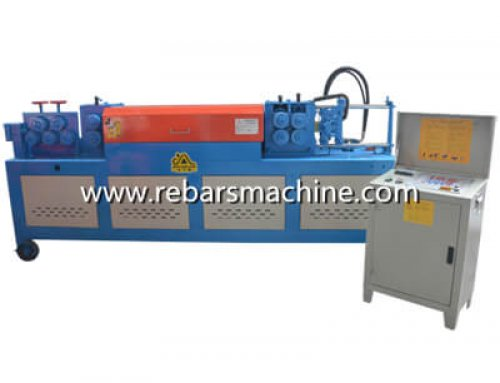 GT4-14D automatic rebar straightening cutting machine