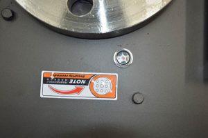 Machine oil hole of GW40B bar bender