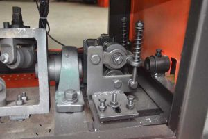 Measurement device of length cutting GT4-12A bar straightening and cutting machine