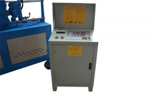 cnc controller of GT4-14D automatic rebar straightening and cutting machine