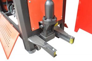 cutting system of GT4-12A bar straightening cutting machine