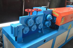 import hole & traction rollers of GT4-14D automatic rebar straightening and cutting machine
