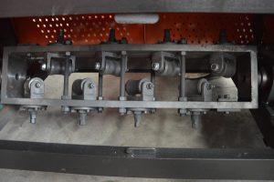straightening unit of GT5-14A steel bar straightening and cutting machine