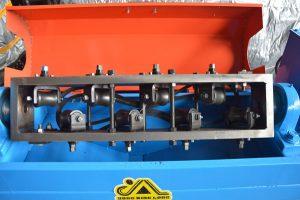 straightening unit of GT5-14C wire rod straightening and cutting machine