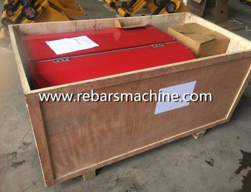 Delivery GT2-5 wire straightening cutting machine Pakistan