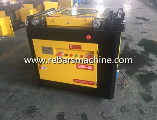Delivery GW50D rebar bending machine South Africa