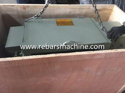scrap bar straightening machine
