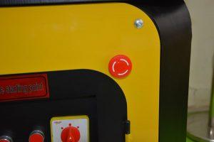 emergency stop button of GW42 automatic rebar bending machine