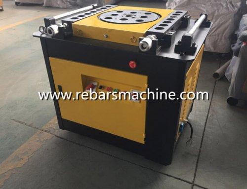 Delivery MYH6-14 straightening machine & GW50 rebar bending machine Israel
