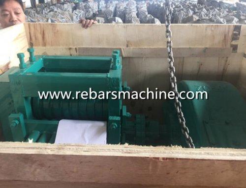Delivery MY10-25 bar straightening machine Philippines