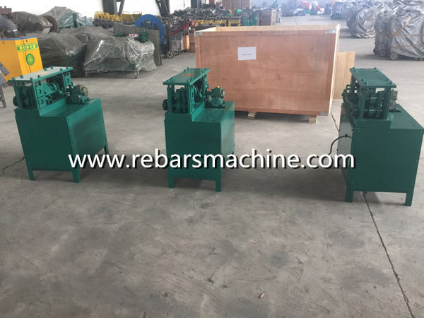 rotary wire straightening machine