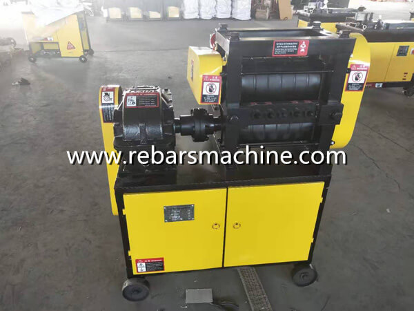 bar straightening machine principle