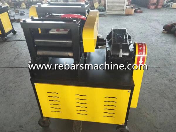 bar straightening machine video