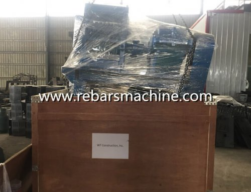 Delivery MY10-25 bar straightening machine Philippines
