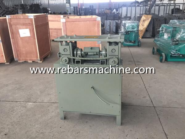 machine for straightening wire