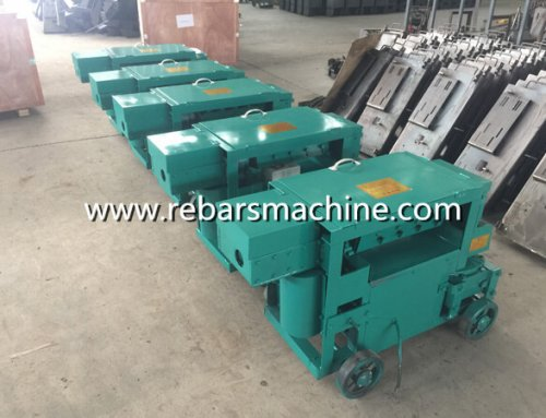 Delivery MY5-12 bar straightening machine Argentina