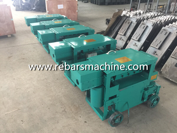 steel bar straightening machine