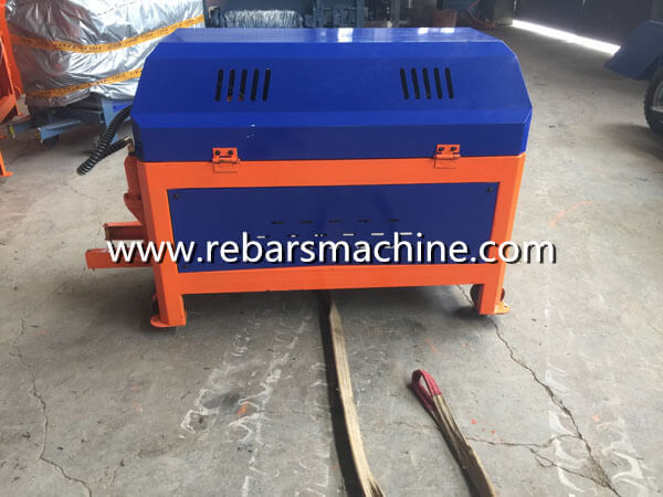 coil straightening cutting machine