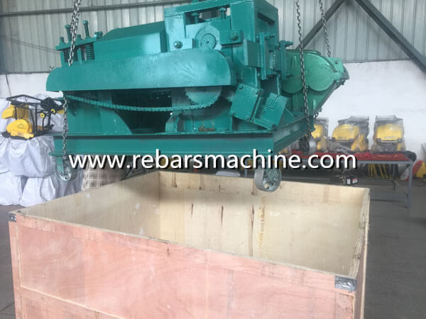 encasement iron rod straightening machine