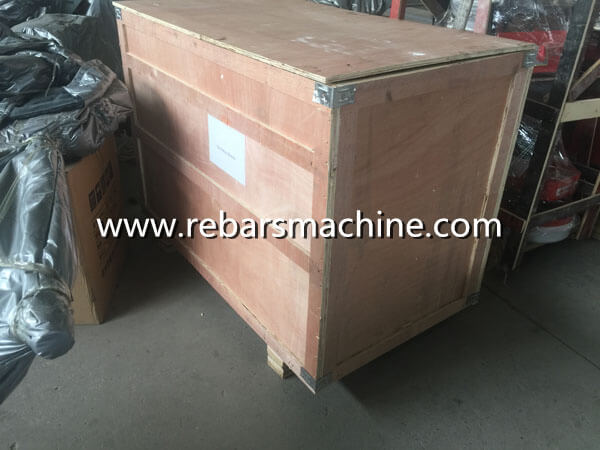iron rod straightening machine package