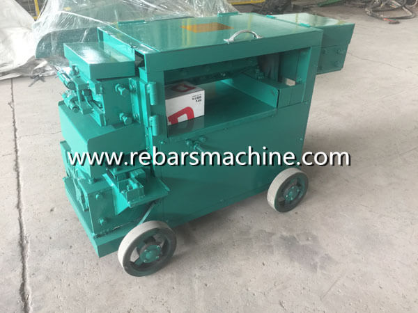 iron rod straightening machine