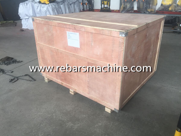 package of manual rod straightening machine