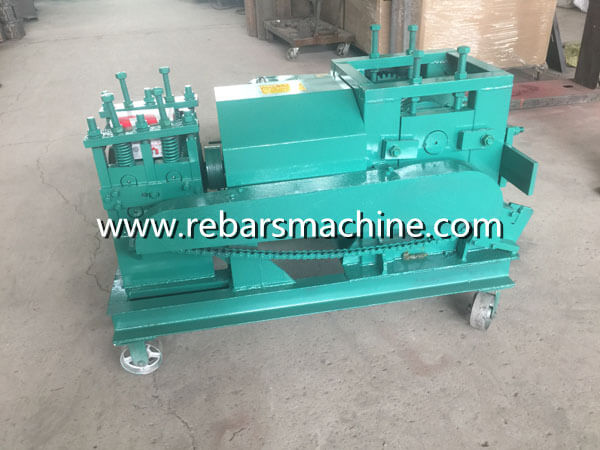 steel rod straightening machine